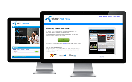 Telenor Portal